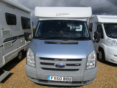 Carado T135 2 berth, (2010) Motorhome for Sale